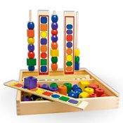 Viga Set Logicki nizovi u Drvenoj Kutiji