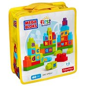 Megabloks First Builders set poučnih kock ABC - DKX58
