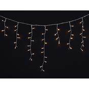 VIDAXL božično novoletne lučke ledene sveče 7.8 m