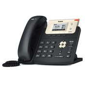 Yealink SIP-T21P, Entry Level IP Phone (with PoE) 2 SIP accounts, 132 x 64-pixel graphical LCD, HD Voice: HD Codec, HD speaker, HD handset, XML/LDAP Phonebook, Open VPN, 2xLAN ports, Headset, with PSU (SIP-T21P E2)