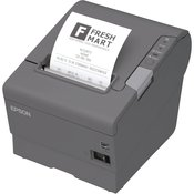 Epson tiskalnik računov EPSON TM-T88V, USB, RS-232, paralelni, črn