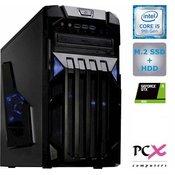 PCX računalnik PCX EXAM (Core i5 2.9GHz, 8GB, 1256GB, GTX1650, FreeDOS), (PCX EXAM GAMING 4.0)