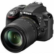 NIKON D-SLR fotoaparat D3300 + 18-105 VR (VBA390K005)