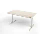 YAASA električno nastavljiva pisalna miza Desk Pro svetla akacija, 160x80 cm