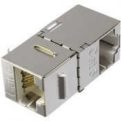 Renkforce RJ45 mrežni adapter CAT 6 [1x RJ45-utičnica - 1x RJ45-utičnica] 0 m metal renkforce