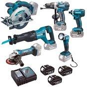 MAKITA set elektičnega orodja DLX 6046 LXT