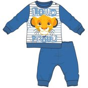 Disney by Arnetta Levji kralj fantovska pižama, modra, 86