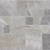 Podna pločica Montana 30,7 x 30,7 cm, siva