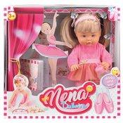 Lutka Bambolina Nena balerina prica na srpskom jeziku 36cm D380