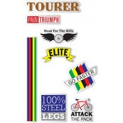 Roadie Bike NPW Stickers