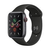 APPLE pametna ura Watch Series 5 LTE (44mm), siva-črna
