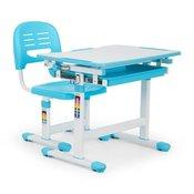 ONECONCEPT otroška pisalna miza Annika (miza + stol), modra