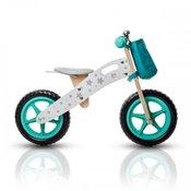Bicikl deciji bez pedala Kinderkraft balans drveni zeleni