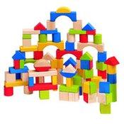 Woody kocke u boji, natur, 100 komada