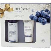Delidea Blueberry & Aloe Body & Hands Set - 1 ste