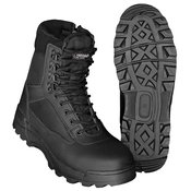 BRANDIT vojaški taktični škornji TACTICAL ZIPPER (BRA9017-02), črni