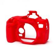 EASY COVER kucište za fotoaparat DISCOVERED za Canon EOS 760D, crvena + 2x LCD folija