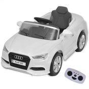 vidaXL Elektricni Autic sa Daljinskim upravljacem Audi A3 Bijeli