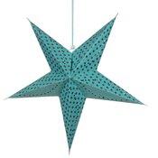 Dekorativna zvezda STAR 68, turkizna