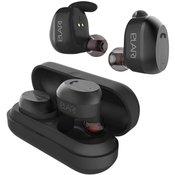 Bluetooth® Naglavne slušalice Elari NanoPods U ušima Slušalice s mikrofonom, Poništavanje buke Crna