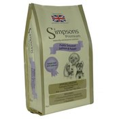 Simpsons Premium Puppy Sensitive losos krumpir - 12 kg