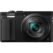 PANASONIC kompaktni fotoaparat Lumix DMC-TZ70, črn