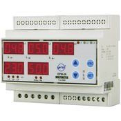 ENTES Programabilan trofazni AC multimetar EPM-06CS-DIN ENTES za DIN šinu napon, struja, frekvencija, pogonski sati