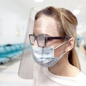 Zaščitni vizir za obraz (vizir za zaščito obraza)