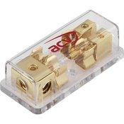 Razdjelni blok osigurača, 1 na 2, 10/20 mm2, stakleni osigurači 10,3 x 38,1 mm