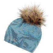 Eisbär Rumer Fur Crystal Womens Dark Blue/Azure/White
