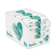 Pampers 9x Aqua Pure wipes