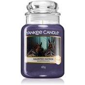 Yankee Candle Haunted Hayride dišeča sveča Classic velika 623 g