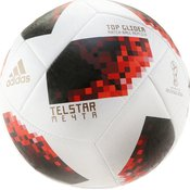 Adidas CW4684 5 WORLD CUP TGLID, nogometna žoga, bela