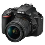 NIKON D5600 + 18-55 mm VR (Crna) DSLR, 24.2 Mpix, 3.2, CMOS