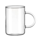 LEONARDO NOVO Tea Glass 360 ml O 7 cm Borosilicate Heat Resistant Microwaveable Dishwasher Safe Transparent 030525