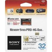 SONY memorijska kartica MEMORY STICK PRO HG DUO 32GB MSH-X32B