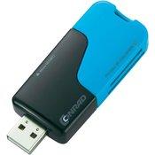 USB čitalnik kartic Blue Capless- 414031