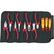 Knipex Set alata za elektricare 11-dijelni Knipex 00 19 41