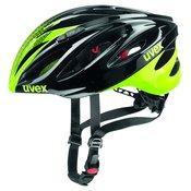 Uvex BOSS RACE, kolesarska čelada, črna