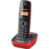 Bežični telefon panasonic kx-tg 1611 crveni