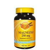 Natural Wealth Magnezij 250 mg, 100 tablet