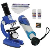 Mikroskop i durbin Set Eastcolight 20341