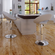 VIDAXL barski stol (2 kosa), bel