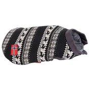 ZOOPLUS Pulover za psa z norveškim vzorcem - pribl. 35 cm dolžina hrbta (velikost L)