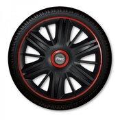 J-TEC okrasni pokrov za platišča Maximus Black Red 16, 4 kosi