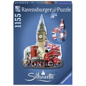 RAVENSBURGER puzzle (slagalice)- Big Ben silueta RA16155