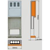 RAMARPLASTIC prostostoječa elektro omarica EPMO BS 4