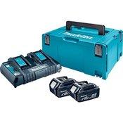 akumulator MAKITA LXT POWER SET MAKPAC TIP3, BL1840BX2, DC18RD, 197504-2