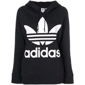 Adidas - Adidas Originals Trefoil hoodie - women - Black