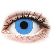ColourVUE Crazy Lens-Sky Blue-brez dioptrije